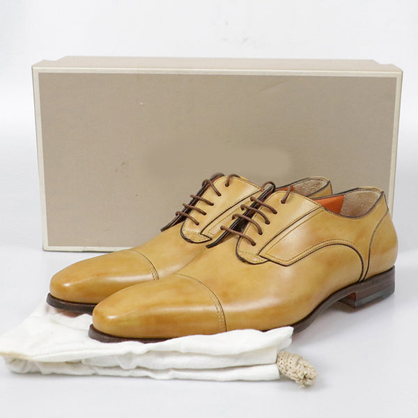 Men's Lace-up Leather Business Shoes