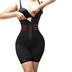 Plus size ladies hips and abdomen body shaper