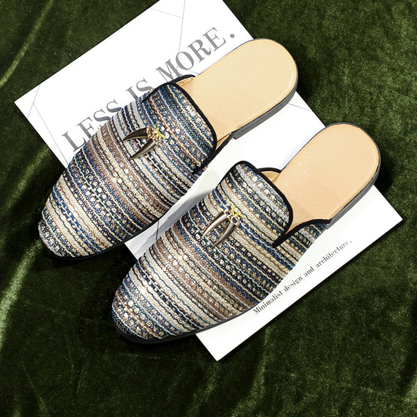 Men's Casual Knitted Slippers