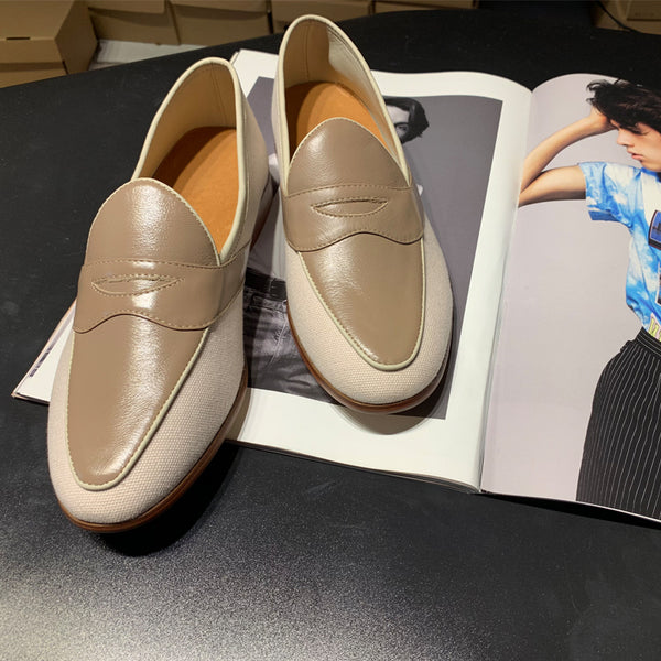 New Beathable Casual Leather Shoes