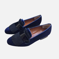Men's Tassel Suede Loafers