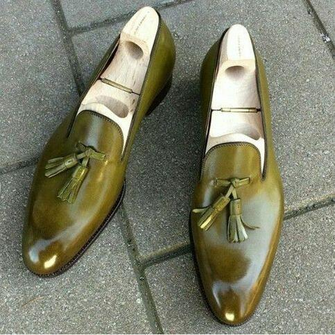 Tassel Loafers Leather Shoes