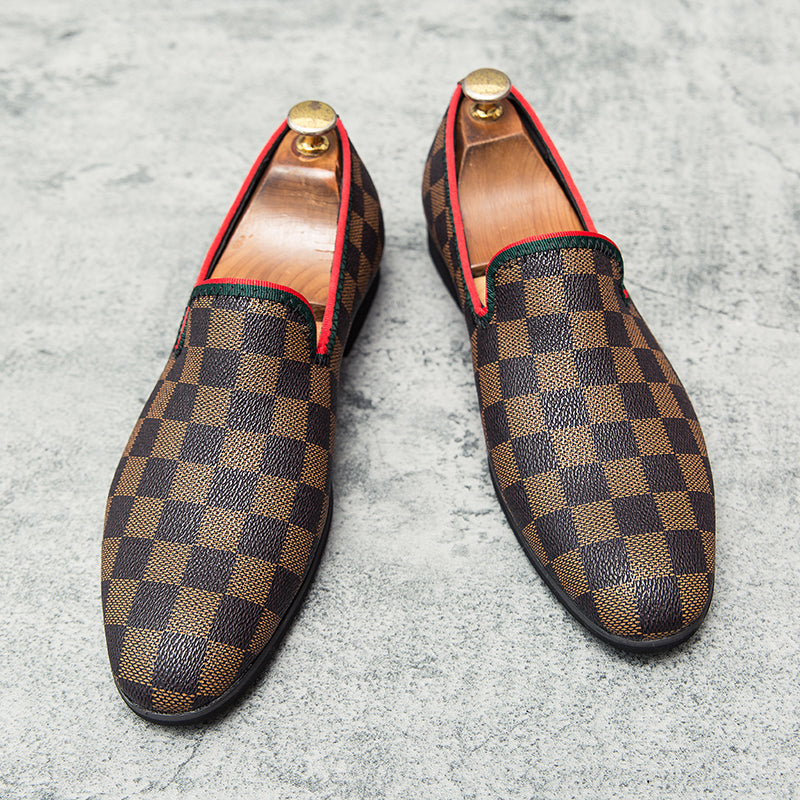 Men's Casual Printed Loafers