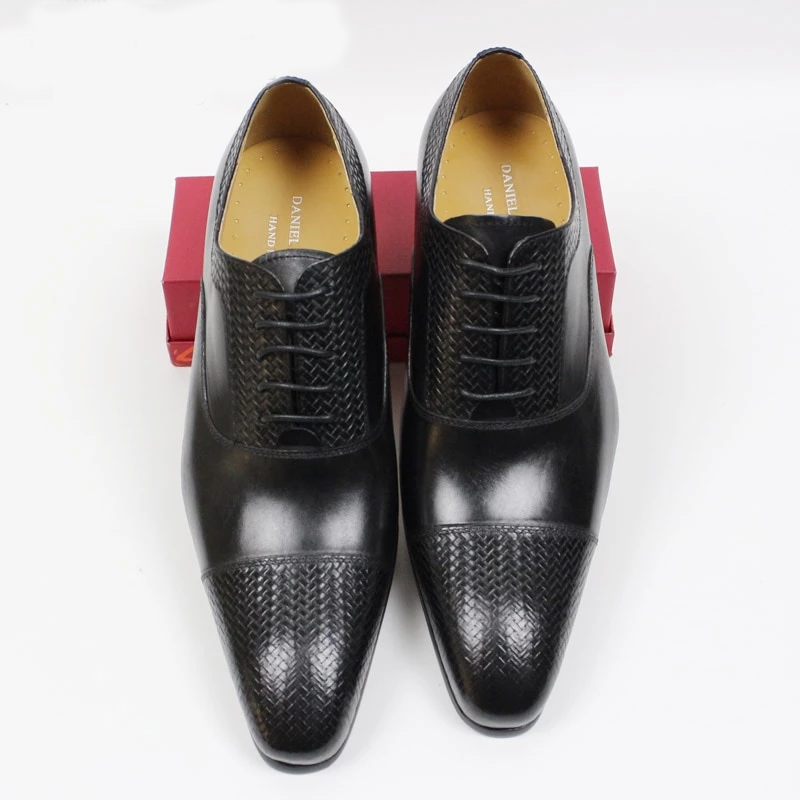 LUXURY BRAND MEN GENUINE LEATHER SHOES