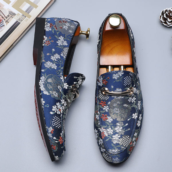 Embroider Soft Comfy Loafers
