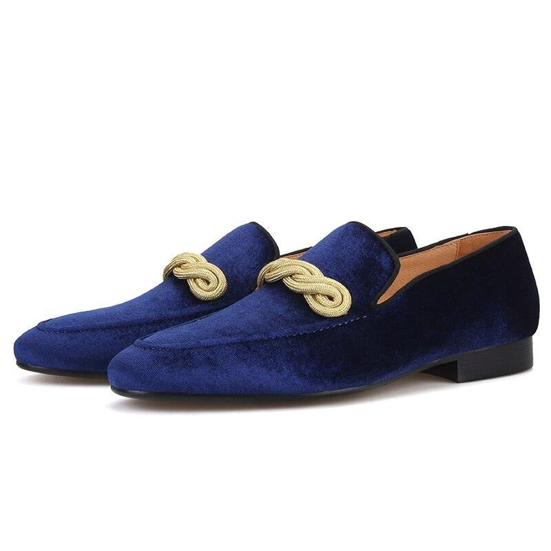 Velvet Handmade Men Loafers