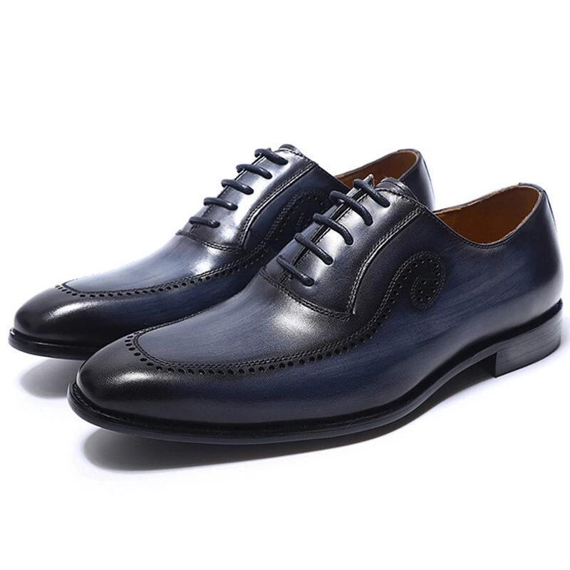 HANDMADE SOLID BROGUE FORMAL HOES