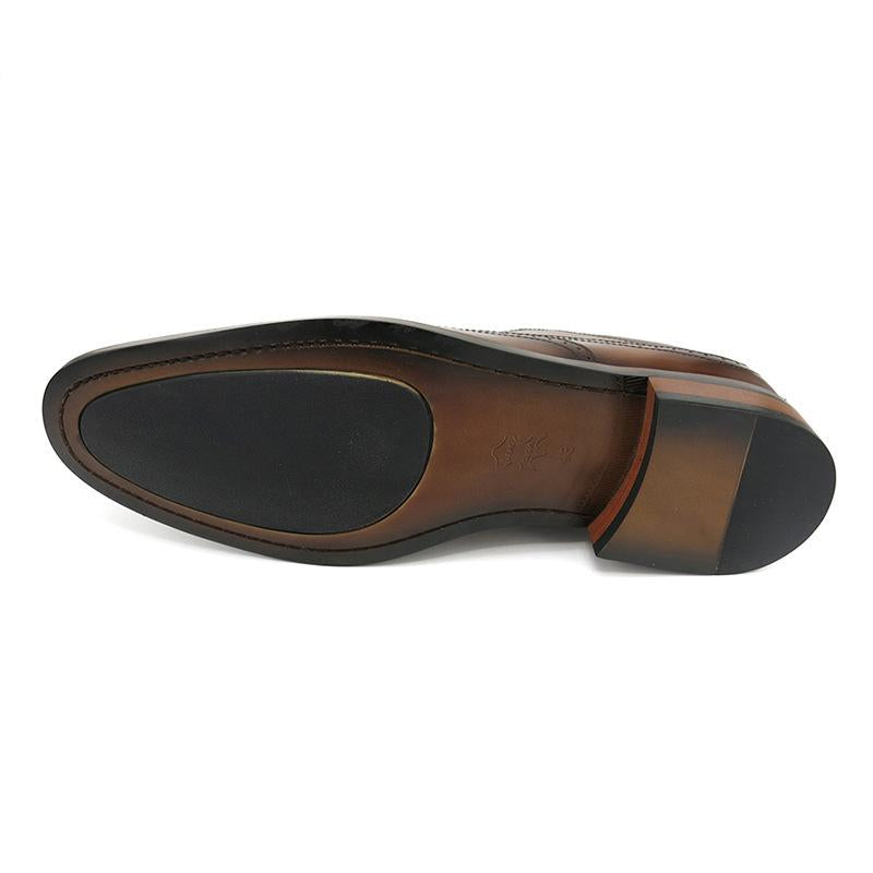 Round toe Bullock Shoes Real Leather
