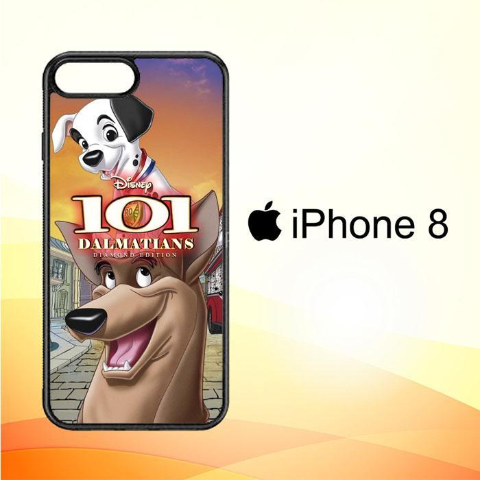 101 Dalmatians Hero X3649 iPhone 8 Cover Cases