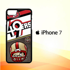 49ers W3374 iPhone 7 Cover Cases