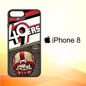 49ers W3374 iPhone 8 Cover Cases