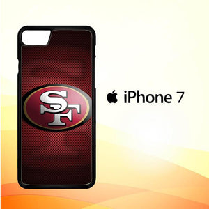 49ers logo X4360 iPhone 7 Cover Cases