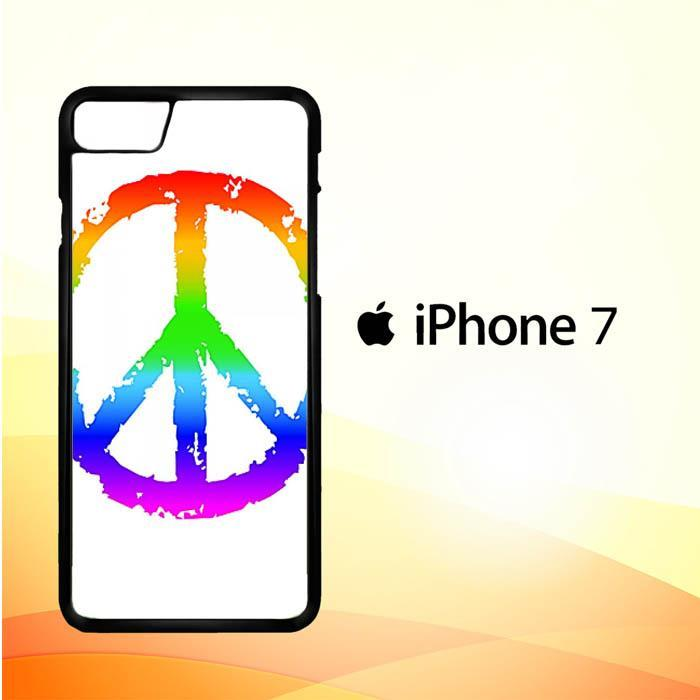 60S PEACE SIGN V0015 iPhone 7 Cover Cases