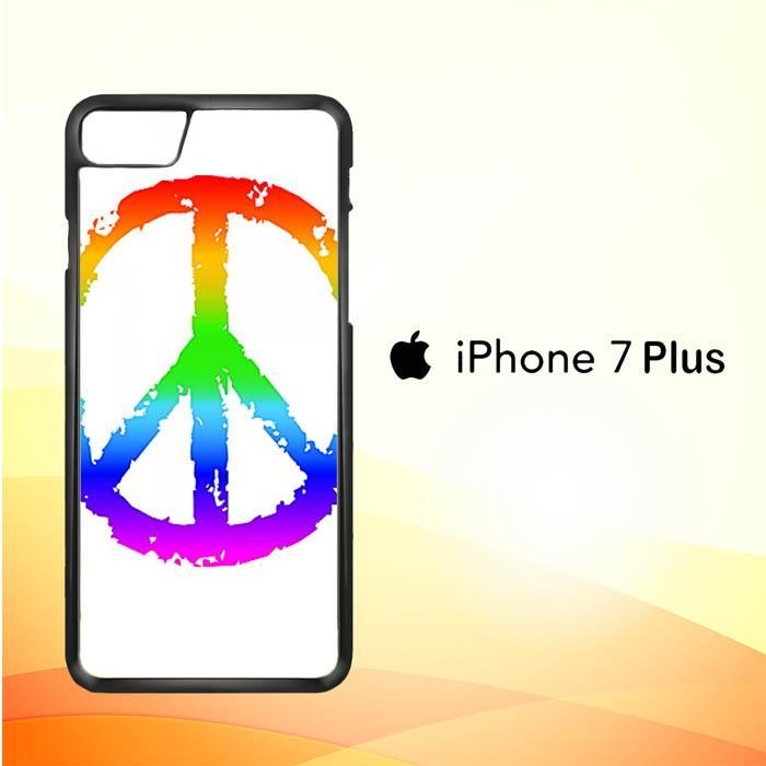 60S PEACE SIGN V0015 iPhone 7 Plus Cover Cases