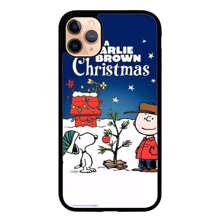 A Charlie Brown Peanuts Christmas Cartoon E0833 iPhone 11 Pro Case
