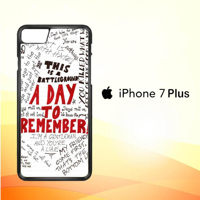 A Day To Remember WALLPAPER Y0237 iPhone 7 Plus Cover Cases