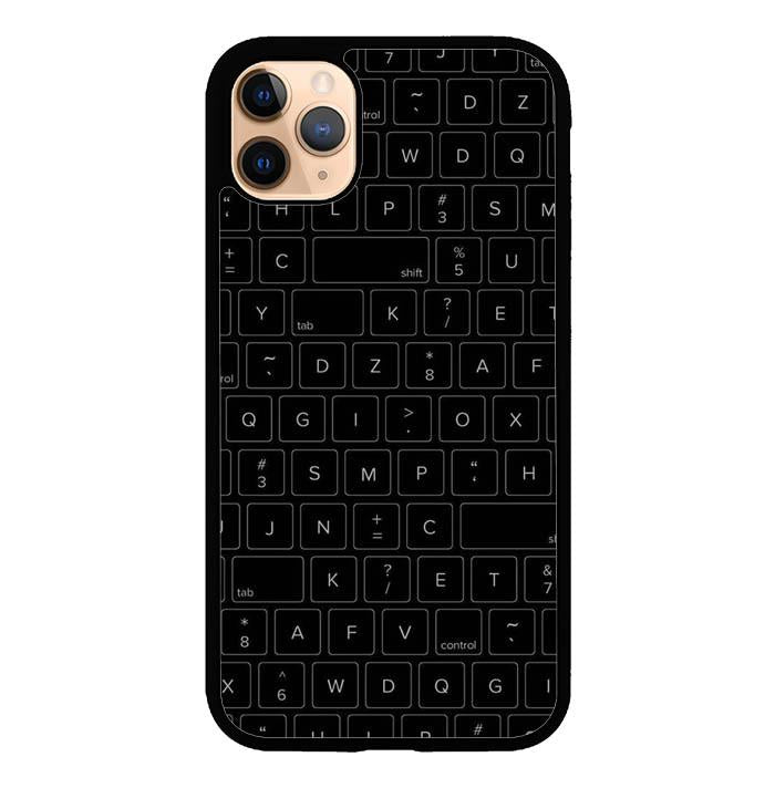 A computer keyboard E1824 iPhone 11 Pro Cover Cases