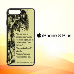 ALICE IN WONDERLAND V0660 iPhone 8 Plus Cover Cases