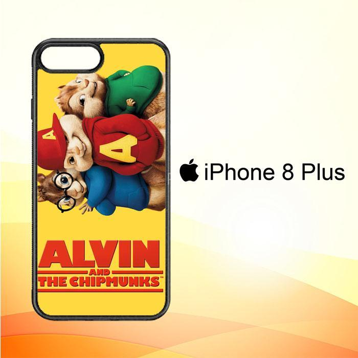 ALVIN AND THE CHIPMUNKS F0267 iPhone 8 Plus Cover Cases