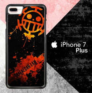 Abstract Trafalgar law S0276 iPhone 7 Plus Cover Cases
