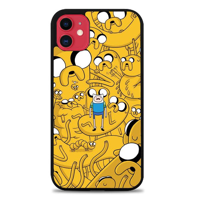 Adventure Time Dog Illusion L1122 iPhone 11 Case