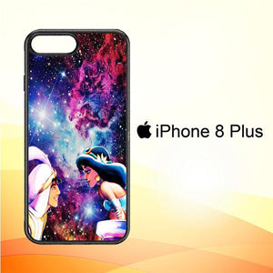 Aladdin And Princess Jasmine V1375 iPhone 8 Plus Cover Cases