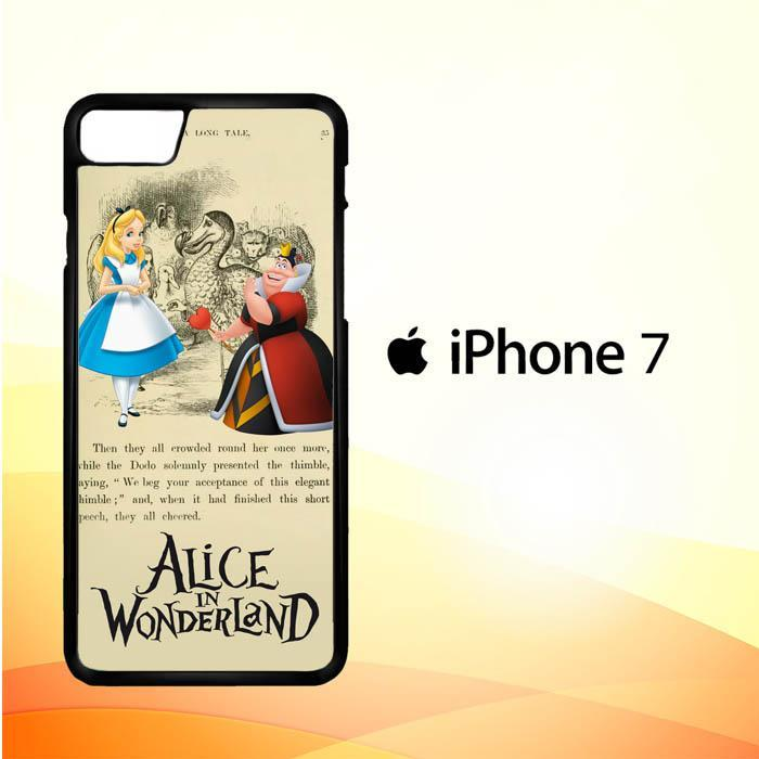 Alice In Wonderland Y3089 iPhone 7 Cover Cases