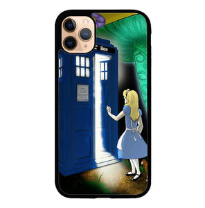 Alice Wonderland On Tardis O3506 iPhone 11 Pro Case