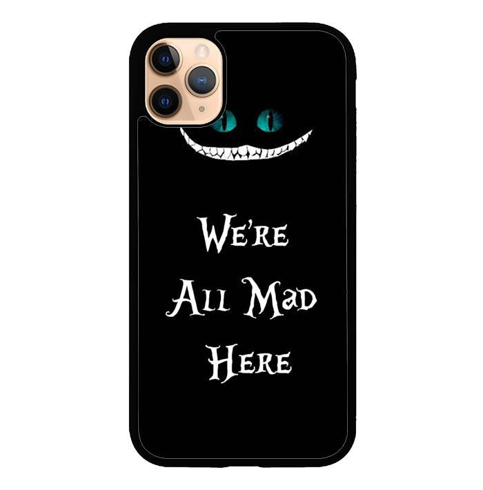 Alice in Wonderland Quote O6901 iPhone 11 Pro Case