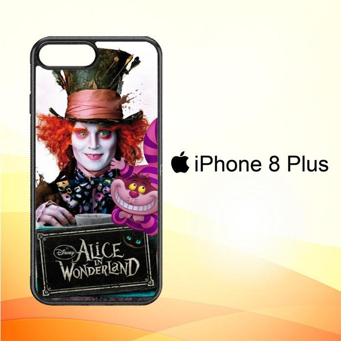 Alice in Wonderland Y3083a iPhone 8 Plus Cover Cases