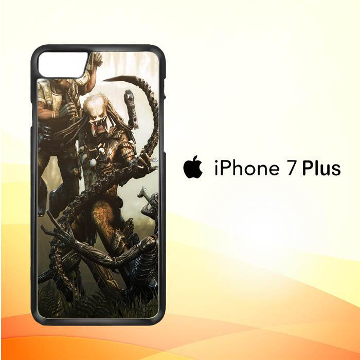 Alien Vs Predator Z0997 iPhone 7 Plus Cover Cases