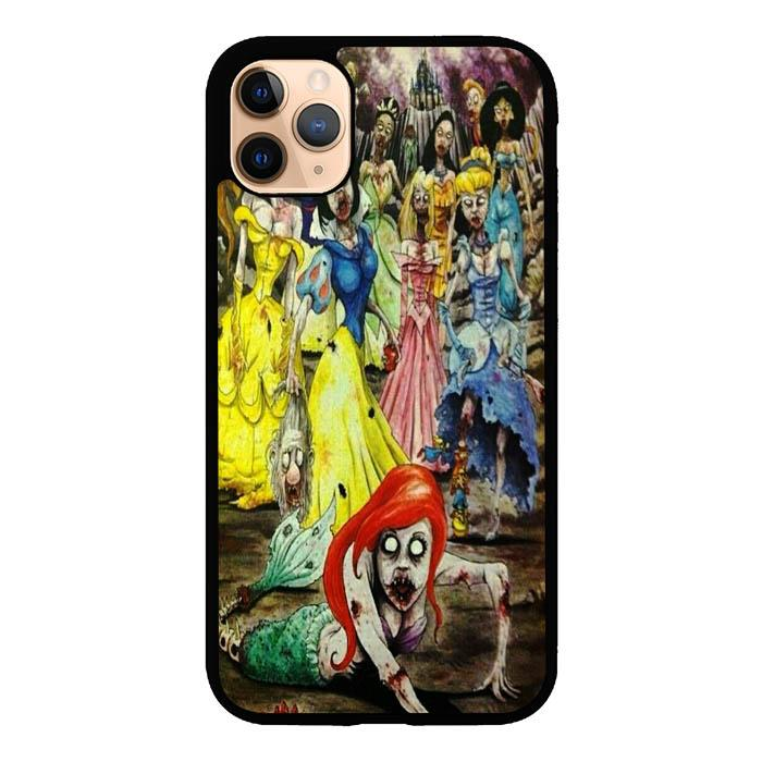 All Character Disney Princess Zombie A1603 iPhone 11 Pro Max Case