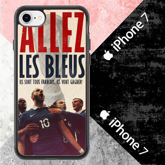 Allez Les Bleus L2606 iPhone 7 Cover Cases