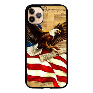 American Flag Eagle Y1487 iPhone 11 Pro Max Case