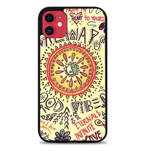 American Hippie Psychedelic L1340 iPhone 11 Case