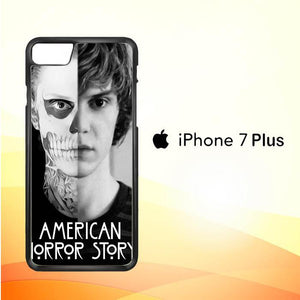 American Horror Story Skull Tate V1404 iPhone 7 Plus Cover Cases