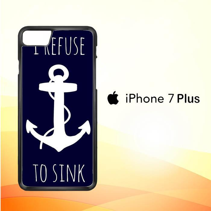 Anchor Refuse Sink V1415 iPhone 7 Plus Cover Cases
