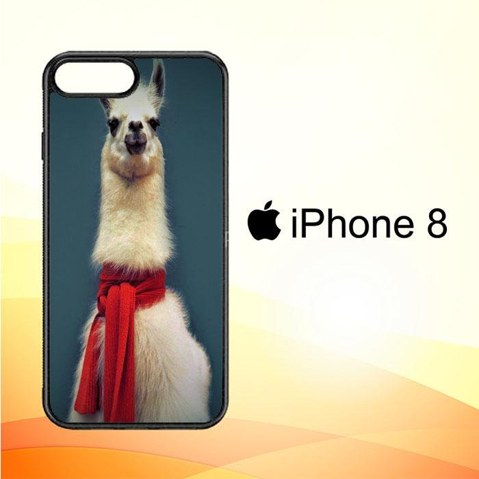 Animal Llama V0256 iPhone 8 Cover Cases