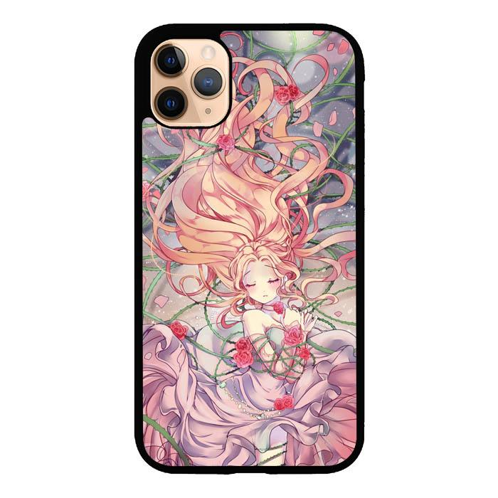 Anime Rose Girl L1369 iPhone 11 Pro Max Case