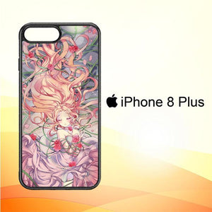 Anime Rose Girl L1369 iPhone 8 Plus Cover Cases