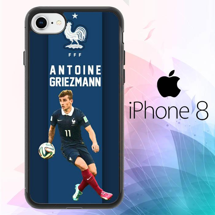 Antonie Griezmann L2607 iPhone 8 Cover Cases