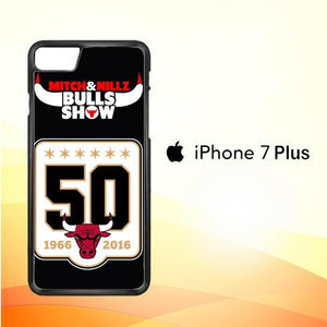 Chicago Bulls LOGO W3129 iPhone 7 Plus Cover Cases