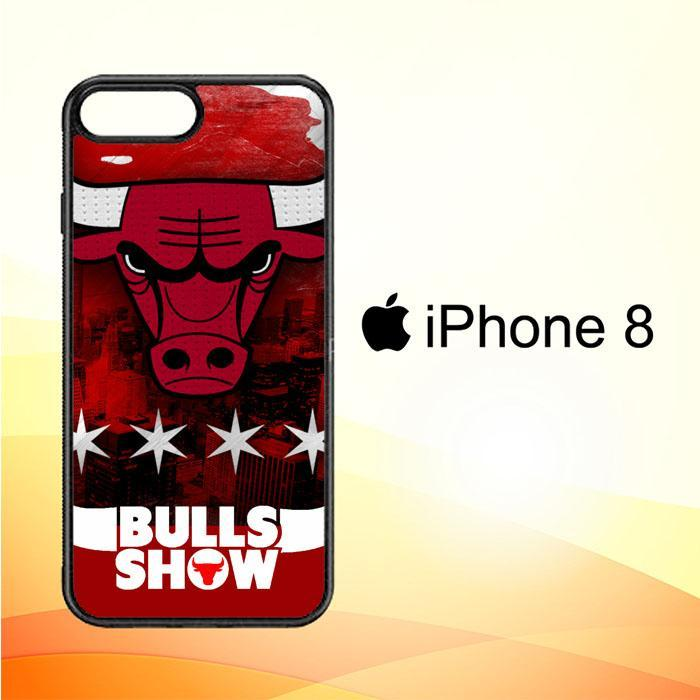 Chicago Bulls W3128 iPhone 8 Cover Cases