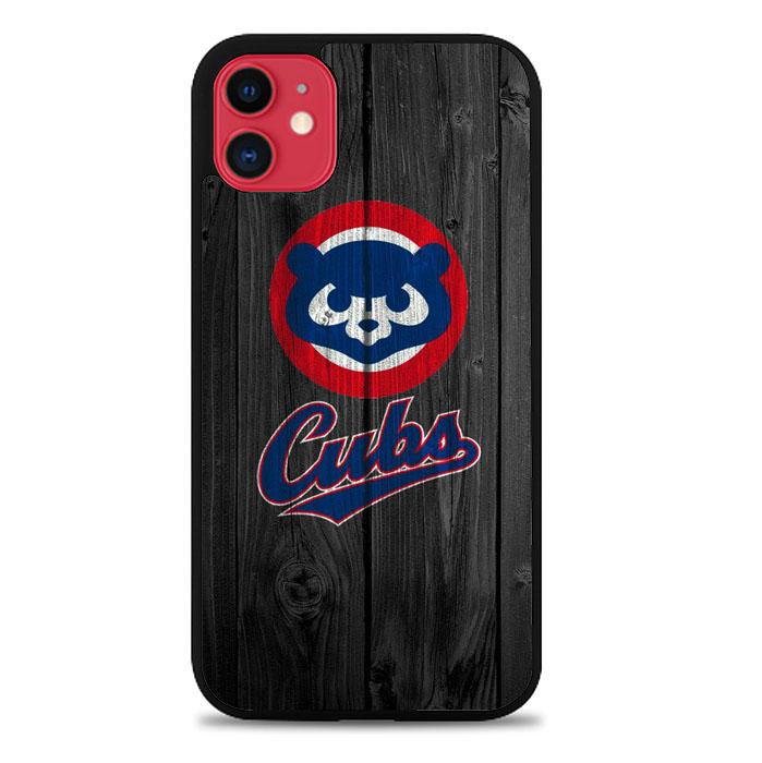 Chicago Cubs Logo X8827 iPhone 11 Case