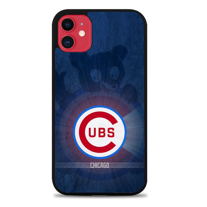 Chicago Cubs Z5076 iPhone 11 Case