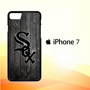 Chicago White Sox wood Z4127 iPhone 7 Cover Cases