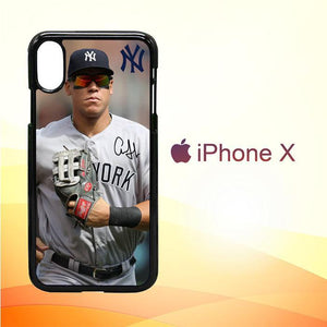 aaron judge NEW YORK W4977 iPhone X | iPhone XS Premium Cover Cases