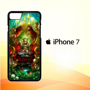 alice in wonderland ART Y1786 iPhone 7 Cover Cases