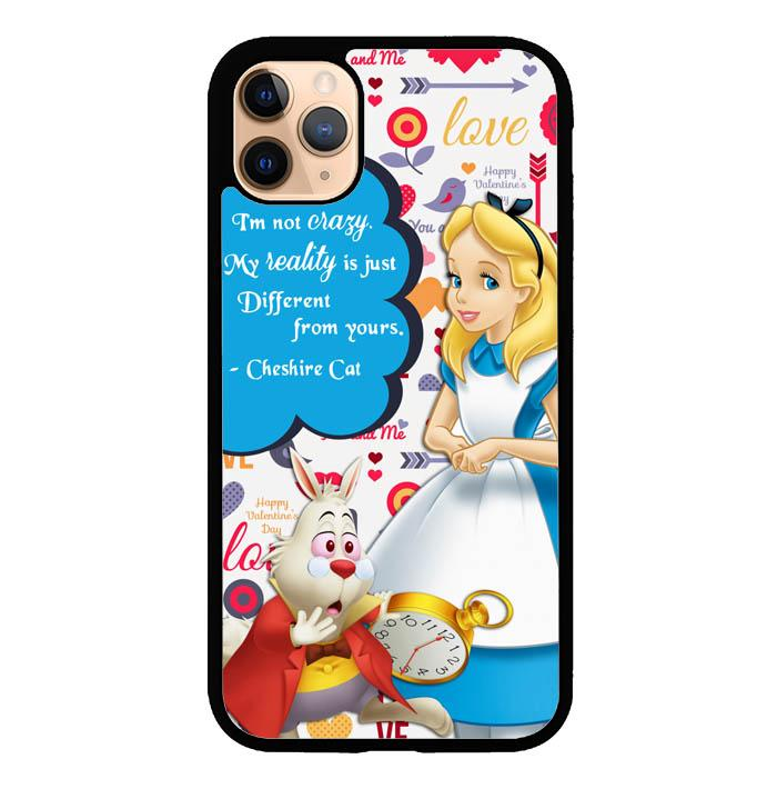 alice in wonderland quotes Y2365 iPhone 11 Pro Case