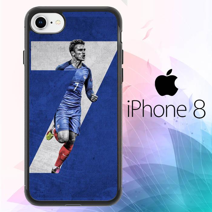 antoine griezmann france FIFA WORLD CUP Z7036 iPhone 8 Cover Cases
